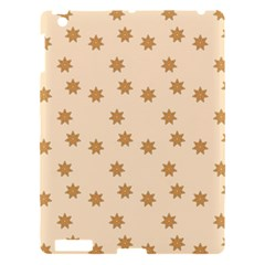 Pattern Gingerbread Star Apple Ipad 3/4 Hardshell Case