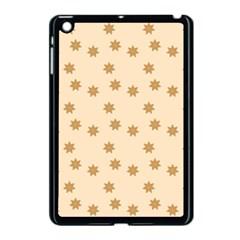 Pattern Gingerbread Star Apple Ipad Mini Case (black)