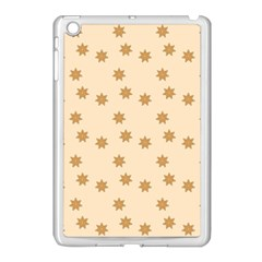 Pattern Gingerbread Star Apple Ipad Mini Case (white)
