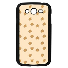 Pattern Gingerbread Star Samsung Galaxy Grand Duos I9082 Case (black)