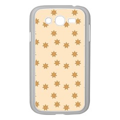 Pattern Gingerbread Star Samsung Galaxy Grand Duos I9082 Case (white)