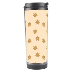 Pattern Gingerbread Star Travel Tumbler