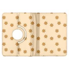 Pattern Gingerbread Star Kindle Fire Hdx Flip 360 Case
