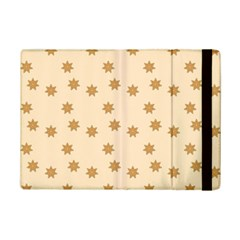 Pattern Gingerbread Star Ipad Mini 2 Flip Cases