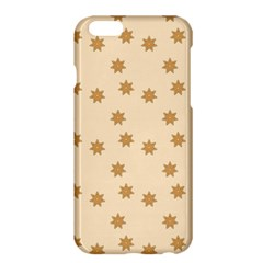 Pattern Gingerbread Star Apple Iphone 6 Plus/6s Plus Hardshell Case
