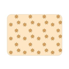 Pattern Gingerbread Star Double Sided Flano Blanket (mini)