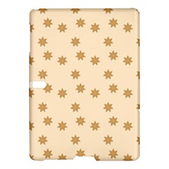 Pattern Gingerbread Star Samsung Galaxy Tab S (10 5 ) Hardshell Case