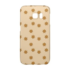 Pattern Gingerbread Star Galaxy S6 Edge