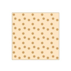 Pattern Gingerbread Star Satin Bandana Scarf