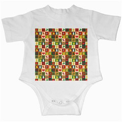 Pattern Christmas Patterns Infant Creepers
