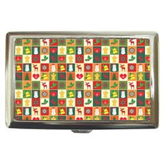 Pattern Christmas Patterns Cigarette Money Cases