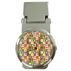 Pattern Christmas Patterns Money Clip Watches