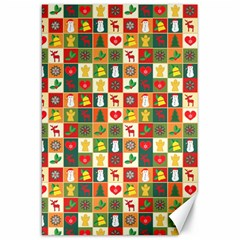 Pattern Christmas Patterns Canvas 20  X 30