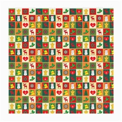 Pattern Christmas Patterns Medium Glasses Cloth (2-Side)