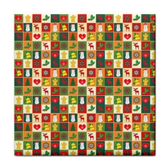 Pattern Christmas Patterns Face Towel