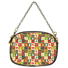 Pattern Christmas Patterns Chain Purses (one Side)