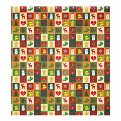 Pattern Christmas Patterns Shower Curtain 66  X 72  (large)