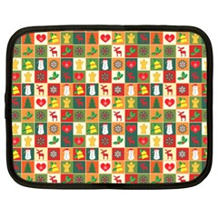 Pattern Christmas Patterns Netbook Case (xl)