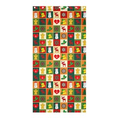 Pattern Christmas Patterns Shower Curtain 36  x 72  (Stall)