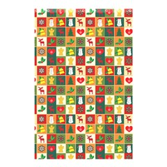 Pattern Christmas Patterns Shower Curtain 48  X 72  (small)