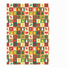 Pattern Christmas Patterns Small Garden Flag (two Sides)