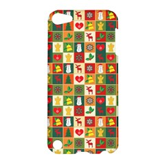 Pattern Christmas Patterns Apple Ipod Touch 5 Hardshell Case