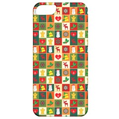 Pattern Christmas Patterns Apple Iphone 5 Classic Hardshell Case