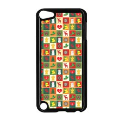 Pattern Christmas Patterns Apple Ipod Touch 5 Case (black)