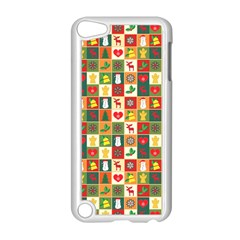 Pattern Christmas Patterns Apple Ipod Touch 5 Case (white)