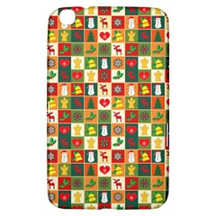 Pattern Christmas Patterns Samsung Galaxy Tab 3 (8 ) T3100 Hardshell Case