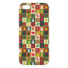 Pattern Christmas Patterns Iphone 5s/ Se Premium Hardshell Case