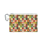 Pattern Christmas Patterns Canvas Cosmetic Bag (S) Front
