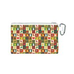 Pattern Christmas Patterns Canvas Cosmetic Bag (S) Back
