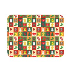 Pattern Christmas Patterns Double Sided Flano Blanket (mini)