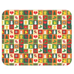 Pattern Christmas Patterns Double Sided Flano Blanket (medium)