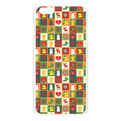 Pattern Christmas Patterns Apple Seamless iPhone 6 Plus/6S Plus Case (Transparent)