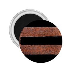 Stainless Rust Texture Background 2 25  Magnets