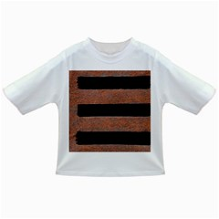 Stainless Rust Texture Background Infant/toddler T Shirts