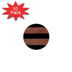 Stainless Rust Texture Background 1  Mini Buttons (10 Pack)