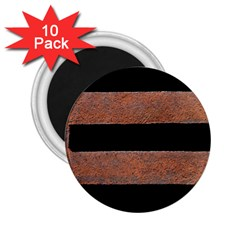 Stainless Rust Texture Background 2 25  Magnets (10 Pack)