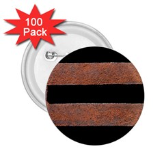 Stainless Rust Texture Background 2 25  Buttons (100 Pack)