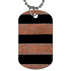 Stainless Rust Texture Background Dog Tag (one Side)