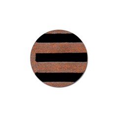 Stainless Rust Texture Background Golf Ball Marker (10 Pack)