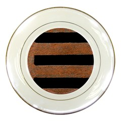 Stainless Rust Texture Background Porcelain Plates