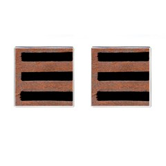 Stainless Rust Texture Background Cufflinks (square)