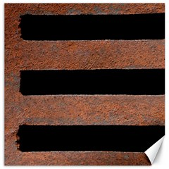 Stainless Rust Texture Background Canvas 12  X 12