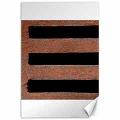 Stainless Rust Texture Background Canvas 24  X 36