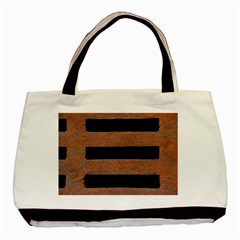 Stainless Rust Texture Background Basic Tote Bag (two Sides)