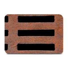 Stainless Rust Texture Background Plate Mats