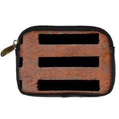 Stainless Rust Texture Background Digital Camera Cases